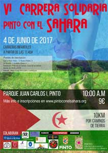 VI Carrera Solidaria por el Sahara 2017